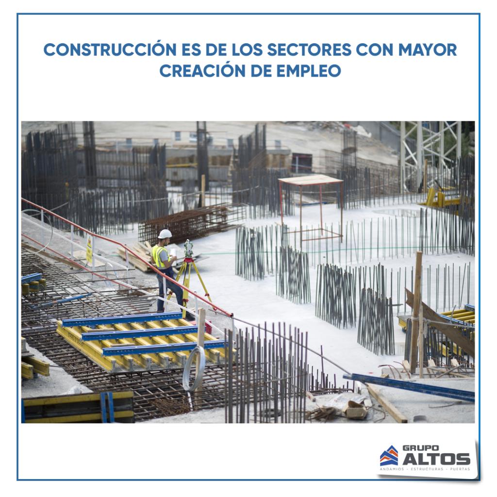 Reactivación: sector de construcción y minería  han recuperado los niveles de empleos previstos en la pandemia